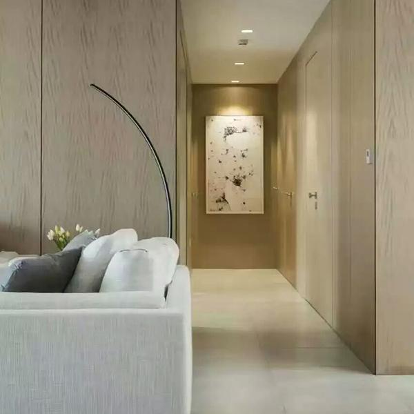 木饰面过道墙板