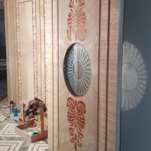 木饰面板会所房门